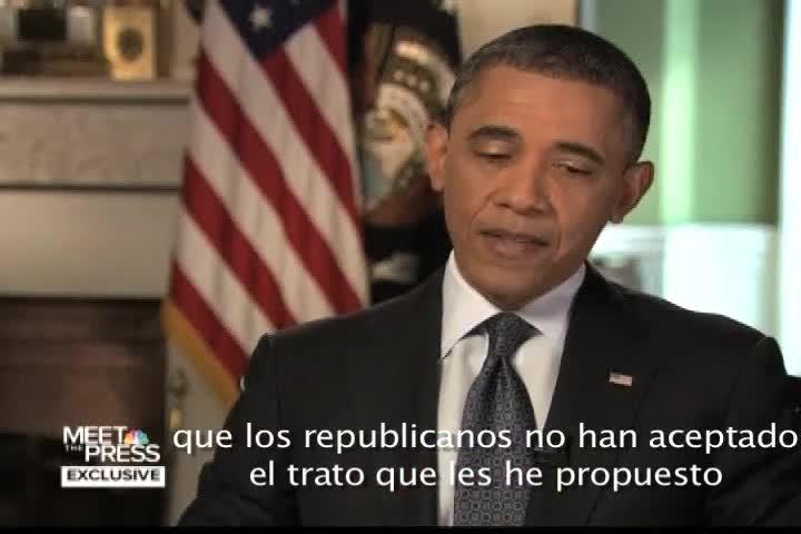 Obama habla sobre el abismo