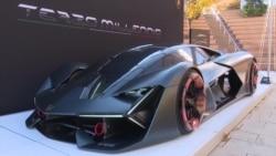 """""""แลมโบรกีนี"""" เปิดตัวรถซูเปอร์คาร์รุ่นใหม่พลังงานไฟฟ้า"""