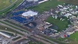 2019-05-27 美國之音視頻新聞: 龍捲風吹襲奧克拉荷馬城外導致兩人喪生