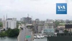 Coronavirus: Rues désertes à Lagos