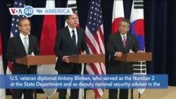 VOA60 Ameerikaa - Biden Expected to Pick Antony Blinken as Secretary of State Nominee