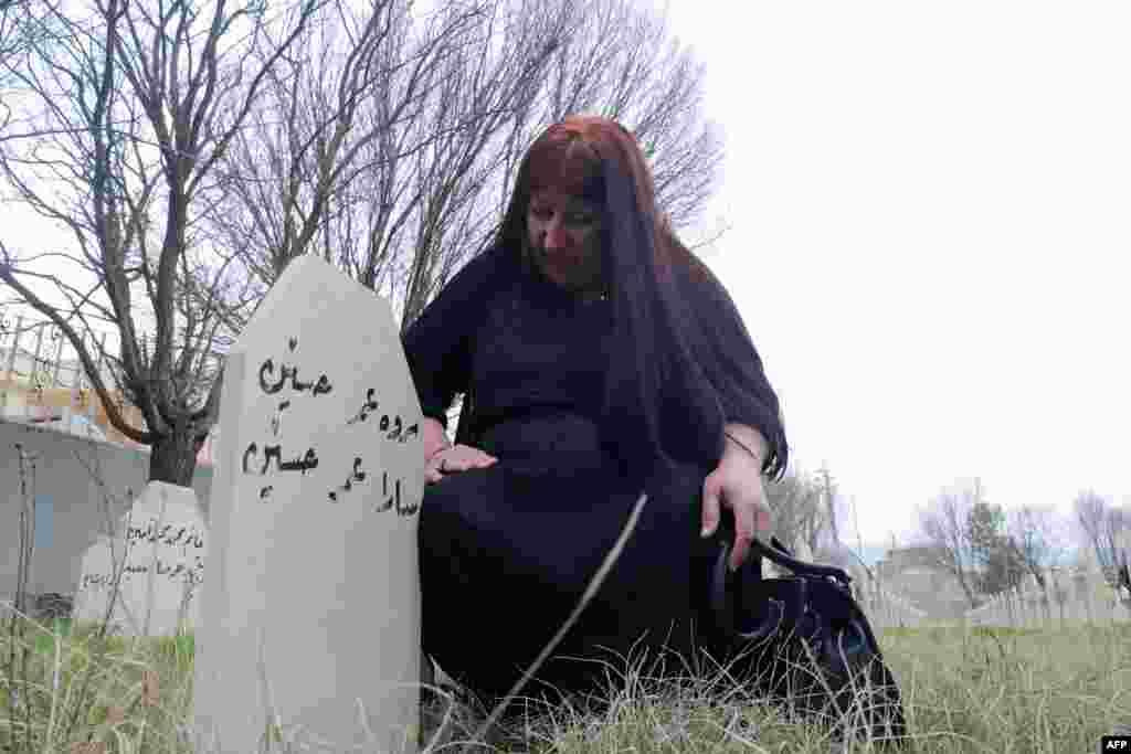 IRAQ-KURDS-HALABJA-MASSACRE-ANNIVERSARY