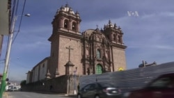 Centro de restauración de arte antiguo en Perú