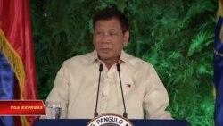 Ông Duterte tuyên thệ nhậm chức tổng thống Philippines