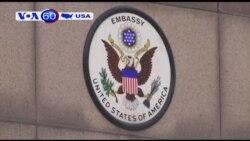 Bắt kẻ nổ súng trước sứ quán Hoa Kỳ (VOA60)