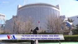 TQ phản đối đề cử Nobel Hòa bình cho các nhà hoạt động Hong Kong