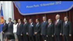 2012-11-20 美國之音視頻新聞: 日本首相野田佳彥歡迎美國將重心轉向亞太