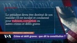 Crime et délit graves : que dit la Constitution ?