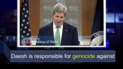 Học từ vựng qua bản tin ngắn: Genocide (VOA)