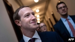 Mark Zuckerberg, PDG de Facebook, le 19 septembre 2019 à Capitol Hill, Washington, DC, USA.