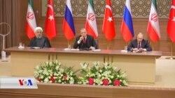 Piştî Civîna ligel Putin û Ruhanî, Erdogan Gefên Dijî Kurdên Sûrîyê Didomîne