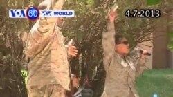 Binh sĩ Hoa Kỳ ăn mừng lễ độc lập xa nhà (VOA60)