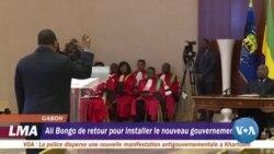 Ali Bongo de retour au Gabon