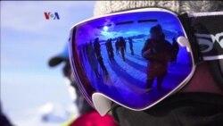 VOA Sports: Aksi Lari Marathon di Benua Antartika