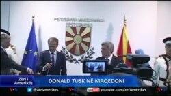 Donald Tusk viziton Maqedoninë