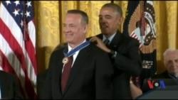 Кого удостоїли вищої громадянської нагороди – Президентської медалі свободи? Відео