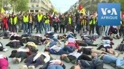 Manifestation contre les féminicides à Paris