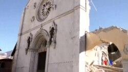 2016-10-31 美國之音視頻新聞: 意大利總理承諾震後重建