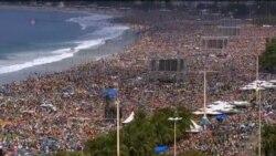 教宗在巴西舉行盛大彌撒