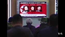 Trump: 3 Americans Detained in North Korea Released, on Way Home