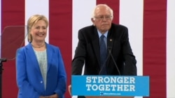 Sanders Formally Endorses Clinton