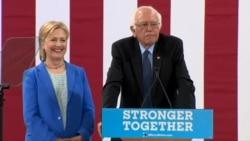 Bernii Sanders Hilarii Kilintanif eebbise dorgommii dhiiseef