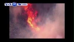 Cháy rừng lớn ở California lan ra gần 22.000 hecta (VOA60)