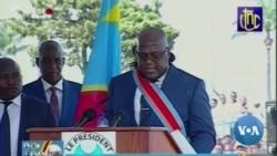 DRC Celebrates New President, Keeps Sharp Eye on Old One