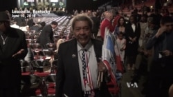 Promoter Don King at Muhammad Ali Memorial Service