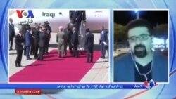 دیدار نخست وزیر عراق و مسعود بارزانی در سفر العبادی به کردستان