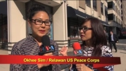 Okhee Sim, Relawan Peace Corps AS