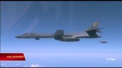 Máy bay ném bom Mỹ tập trận tại Hàn Quốc