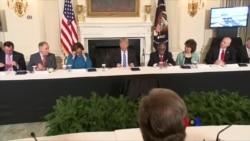 2018-02-13 美國之音視頻新聞: 川普總統公佈大規模基礎設施建設計劃