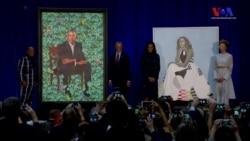 Obamalar'ın Portreleri Smithsonian'da