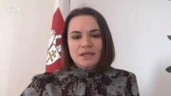 Светлана Тихановская призывает Запад разработать «План Маршала» для Беларуси