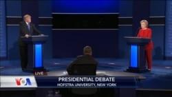 Clinton ve Trump Arasındaki İlk Tartışma Programı