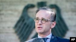 Министр иностранных дел Германии Хайко Маас (архивное фото)