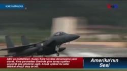 ABD ve Müttefikleri Kore yarımadasında Güç Gösterisi Yaptı