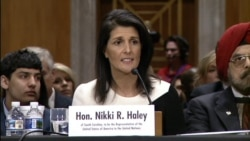 US UN Ambassador Nominee Gov Nikki Haley on Need for 'Strong America'