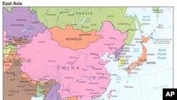 東亞的地理位置