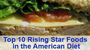 All About America Promo-Top 10 Foods