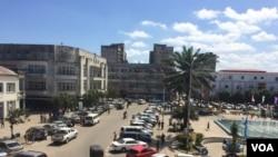 Beira, cidade moçambicana onde terá estado o infetado