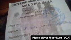 Icemezo (Recu) c'umwe yarishe