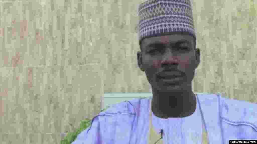 Kaka Shehu Lawan, Borno State Justice Commissioner, Maiduguri, Nigeria, December 2013