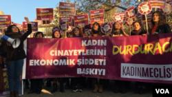 Women activists in turkey