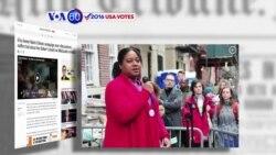 Manchetes Americanas 28 Outubro: Filha de Eric Garner escreve tweets contra Hillary Clinton