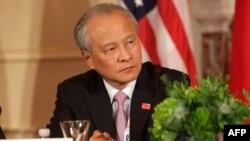 Cui Tiankai, Duta Besar China untuk AS berbicara di Washington DC (foto: dok).