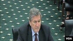 Richard Holbrooke, specijalni izaslanik predsjednika Obame za Afganistan i Pakistan, govori u kongresnom komitetu za usmjeravanje federalnih forndova