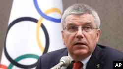 Chủ tịch IOC Thomas Bach.