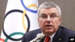 توماس باخ، رئیس کمیتۀ بین المللی المپیک